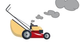 Rasenmäher als Benziner