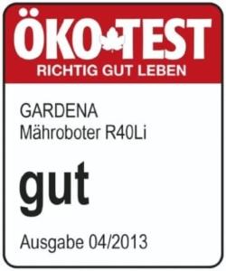 Gardena R40Li ist bei Ökotest der Testsieger