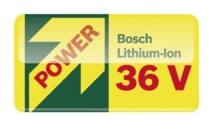 Bosch Akku-Rasenmäher Rotak 32 LI High Power mit stärkerem 2,6Ah Akku