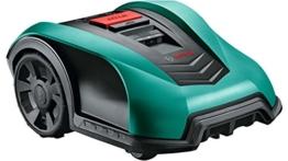 Bosch DIY Rasenmähroboter Indego 350, 19 cm Schnittbreite, bis zu 350 m² Mähfläche pro Ladung -