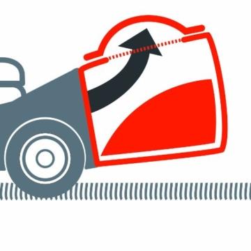 Einhell Benzin Rasenmäher GH-PM 40 P Füllstandsanzeige