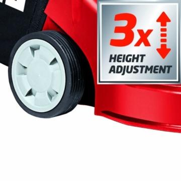Einhell Benzin Rasenmäher GH-PM 40 P mit dreifacher Höhenverstellung
