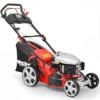 HECHT Benzin-Rasenmäher 548 SWE Benzin-Mäher mit Elektro-Start (5 PS Motorleistung, 46 cm Schnittbreite, 7-fache Schnitthöhenverstellung 25-75 mm, 60 L Fangsack) -