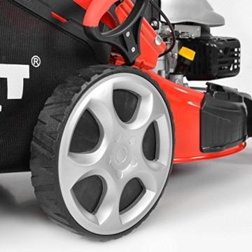 HECHT 5484 SX Benzin-Mäher mit großen Hinterrädern