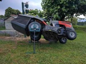 Rasenmäher schärfen